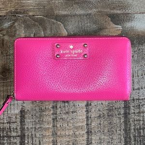 Kate Spade Neda Wellesley Zip Around Wallet